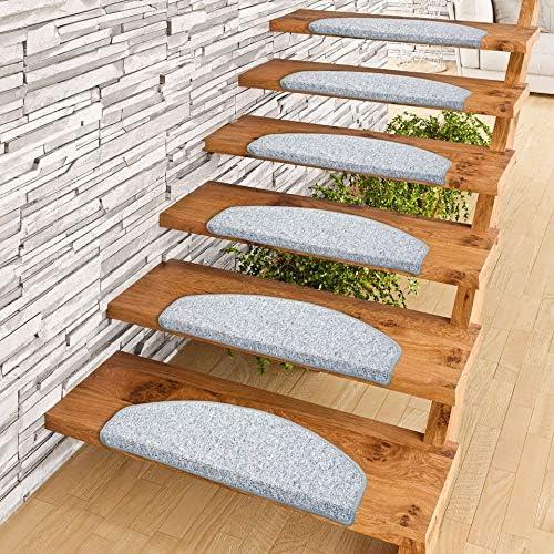 Braun 65 Farbe Astra Sisal Manaus Stufenmatten im 15er Set
