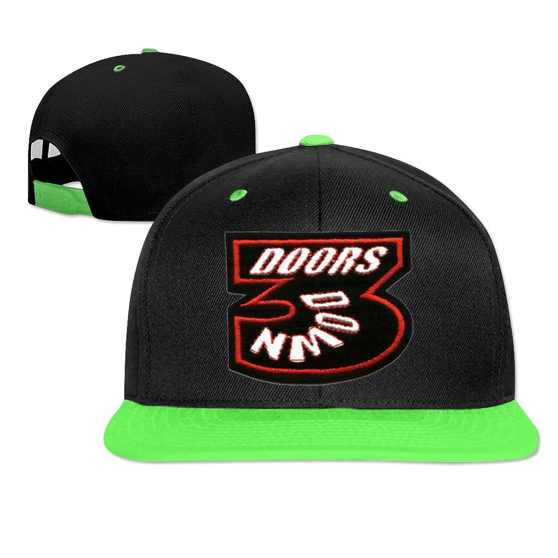 HUANGDOU 2016 cool 3 doors down diy logo Opeeda Adjustable Hip Hop Hats Caps For Men/Women