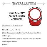 1797 Compatible Engine Button Caps for BMW