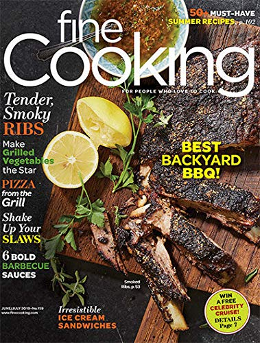 Fine Cooking Magazine (June/July, 2019) Best Backyard BBQ
