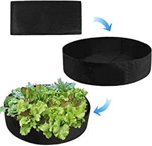 Sumtory 20 Gallon Grow Bags Vegetable Planter Planting Garden Pots Vegetables Growing Container