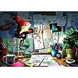 Ravensburger Disney Pixar: The Artist's Desk Puzzle (1000 Piece)