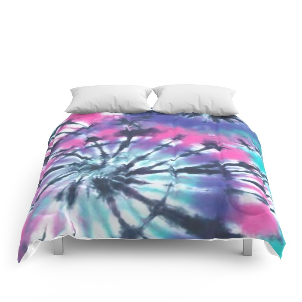 Society6 Tie Dye Love Comforters Queen: 88'' x 88'' by Society6 (Image #1)
