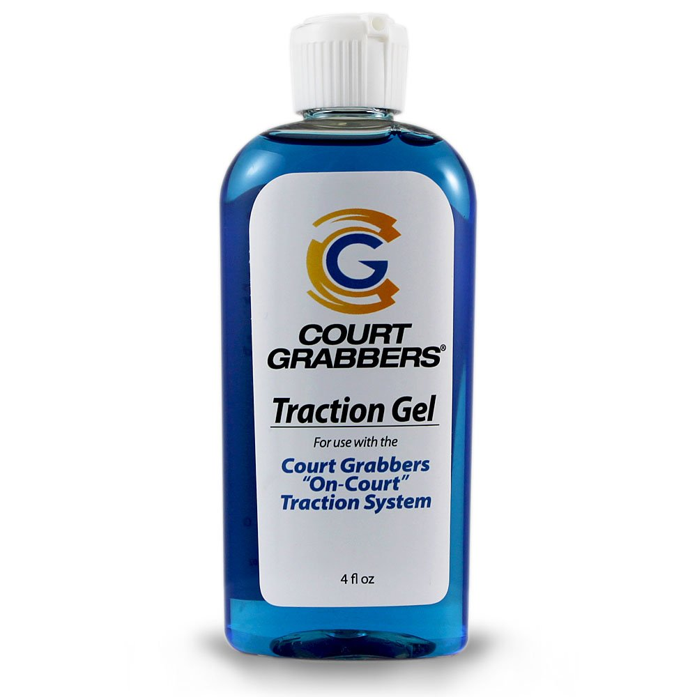 Court Grabbers Traction Gel -World's Best Traction in a Bottle. Use with The Traction Kit