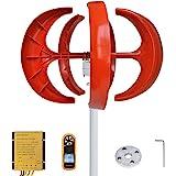 Pikasola Wind Turbine 200W max 220W 12V 5 Blade Wind Vertical Axis Generator 3 Phase AC Permanent Magnet Generator Wind Turbi