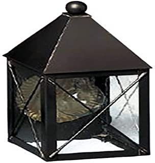 product image for Brass Traditions 531 SXDB Small Wall Lantern 500 Series, Dark Brass Finish 500 Series Wall Lantern