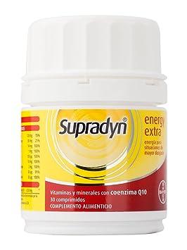 BAYER supradyn energy extra 30 comprimidos: Amazon.es: Salud y cuidado personal