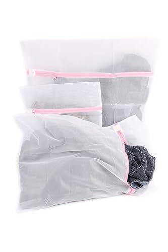 Laundry Mesh Washing Bag Set Of 3 Lingerie Bags For