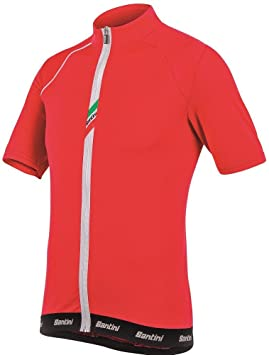 Santini Sp94275 Zeit Lite Short Sleeve Jersey - Red 8b08444f8