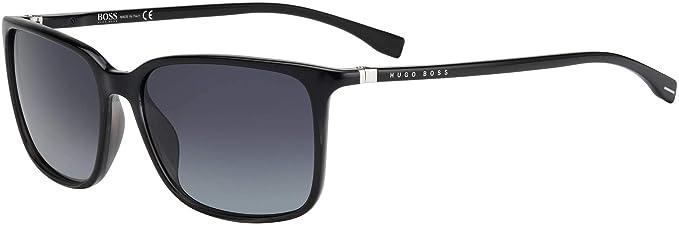Amazon.com: Gafas de sol Boss negro 666 /N/S 008A gris / 9O ...