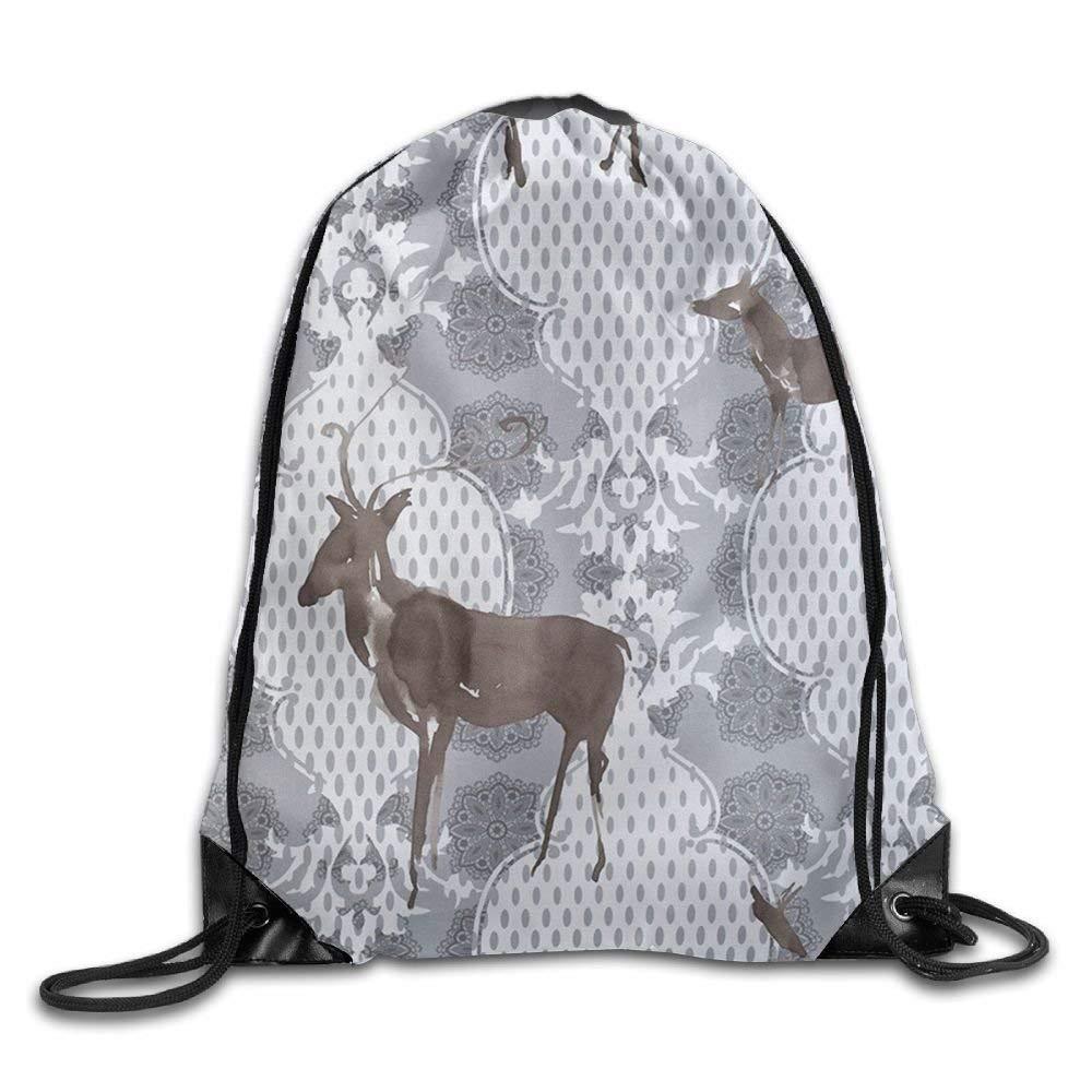 Naiyin Folding Sport Backpack Casual Daypacks for Team Group Men Women - (Deer Florals)