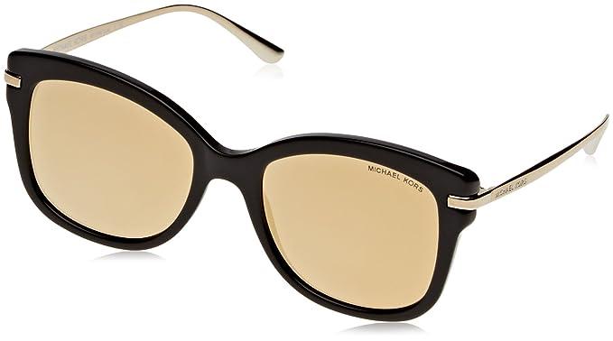 Michael Kors Lia Gafas de Sol, Black 31607P, 53 Unisex ...