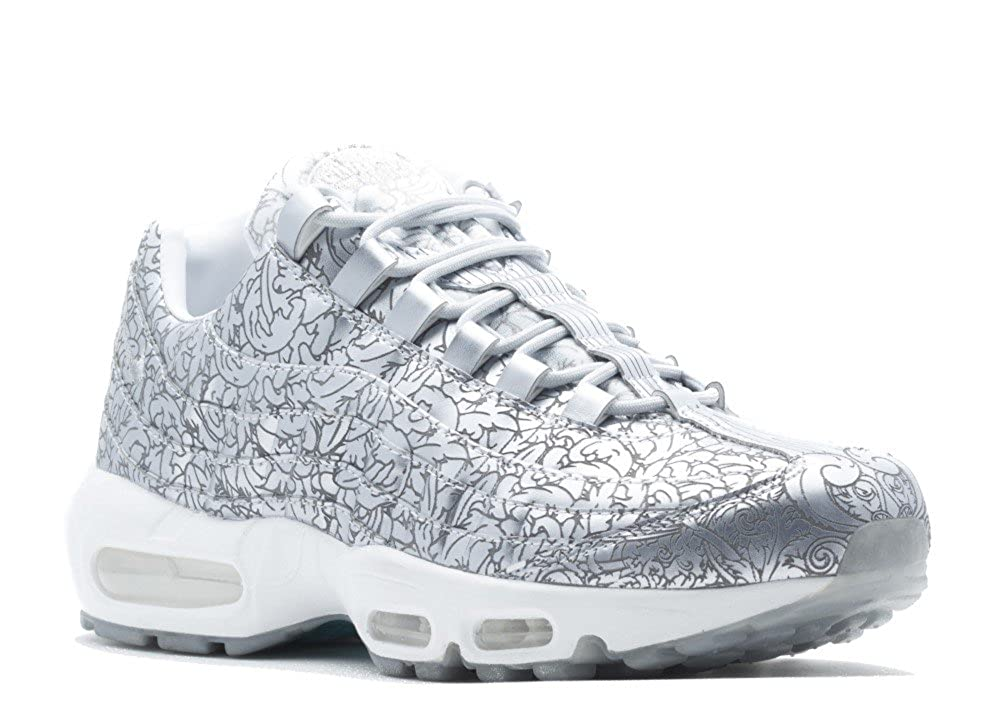 reputable site 897a4 ef759 Amazon.com   Mens Nike Air Max 95 Anniversary QS Pure Platinum Metallic  Silver 818721-001 US 10   Basketball