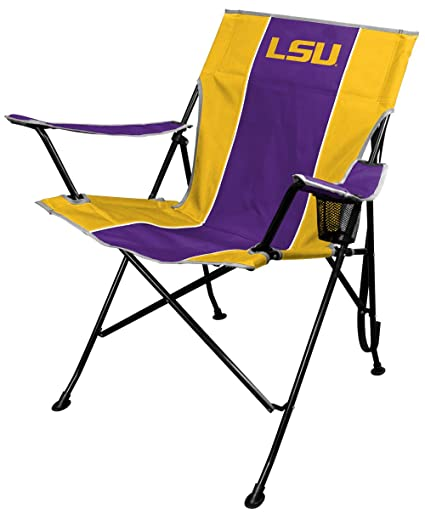 Tremendous Ncaa Portable Folding Tailgate Chair With Cup Holder And Carrying Case All Team Options Unemploymentrelief Wooden Chair Designs For Living Room Unemploymentrelieforg