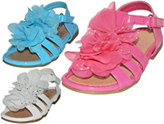 49606db83ab5 Wholesale Toddlers Silk Mesh Flower Top Sandals - White
