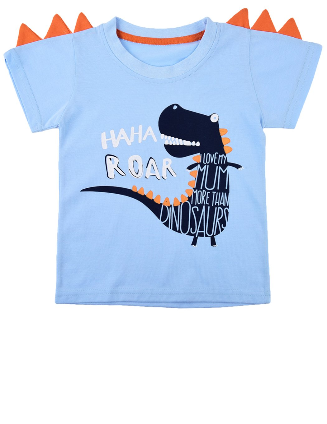 Dhasiue Kids Dinosaur T-Shirt Toddler/Little Boys Short Sleeve Tops Tees