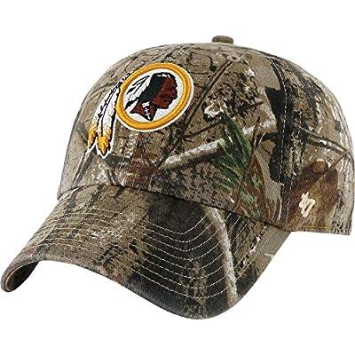 Men's '47 Brand Washington Redskins Realtree? Clean Up Slouch Adjustable Hat Adjustable from '47 Brand