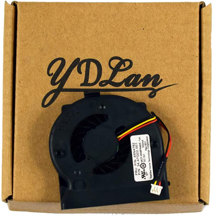 Replacement CPU Cooling Fan for IBM Lenovo Thinkpad X200 X200i X201 X201i Series Laptop 45N4782 34.47Q22.001