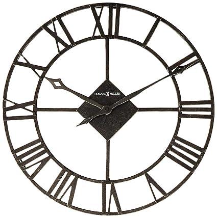 Amazon Com Howard Miller 625 423 Lacy Ii Wall Clock Home Kitchen