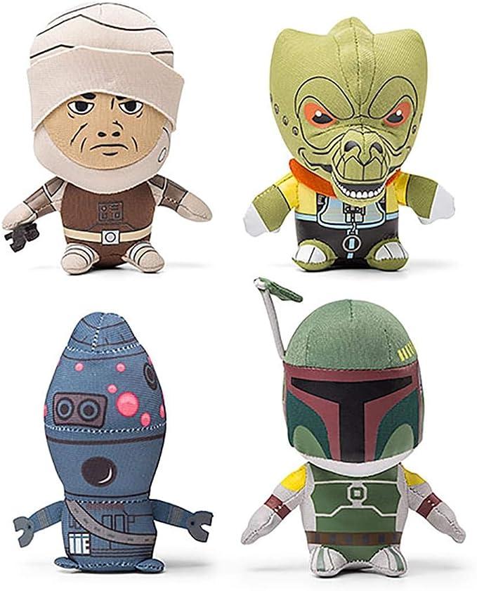 Star Wars POTF Bounty Hunter lot of 5 Hologram Boba Fett 4-Lom Bossk Dengar NIB