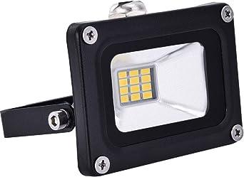 12V Foco LED, 10W 800LM Blanco Cálido 3000K Reflector Foco ...