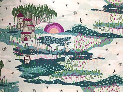 lower Child by Maureen Cracknell for Art Gallery Fabrics - Premium Cotton (Cotton Fabric Art)