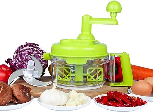 TENTA Kitchen Procesador de alimentos de manivela 800ml / picadora ...