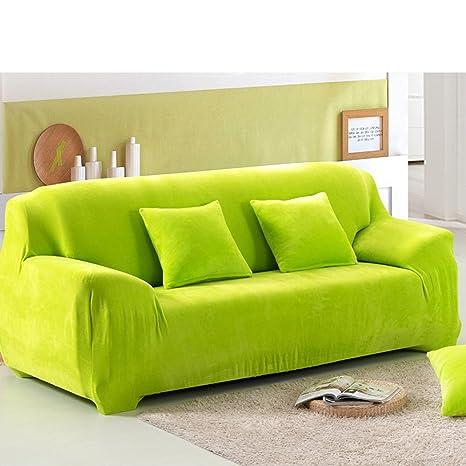 Fabulous Amazon Com Plush Thick Elastic Sofa Slipcover Solid Color Machost Co Dining Chair Design Ideas Machostcouk