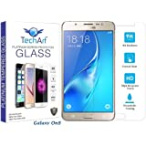 Samsung Galaxy On 8 Tempered Glass Screen Protector [PREMIUM FLEXIBLE Glass Series] with FREE Installation Kit Designed By TechArt®