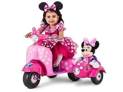 Amazon.com: Kid Trax Minnie Mouse Happy Helpers - Patinete ...