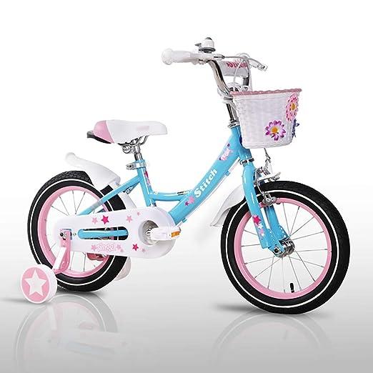 GAIQIN Durable Bicicleta de Bicicleta para niños 2-4-5-7-8-9.5 ...