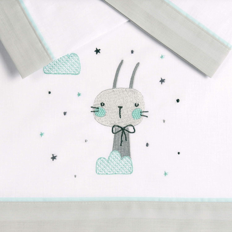 Pekebaby OH BABY - Tríptico sábanas algodón coche (35 x 75 cm ...