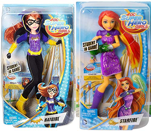 AYB Products Star Hero DC Students Girls 2-Pack Super 12