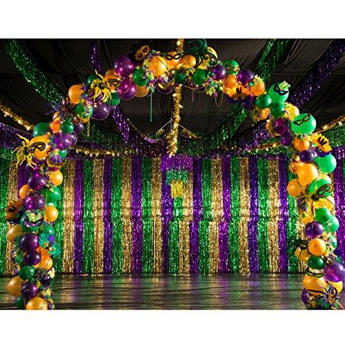 Mardi Gras Madness Balloon Arch ()