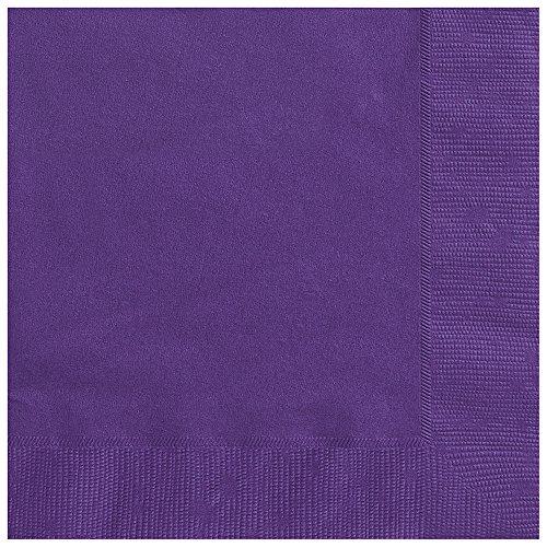 (Dark Purple Paper Napkins, 50ct)