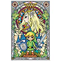 The Legend of Zelda Stained Glass Maxi Poster 61 x 91,5 cm