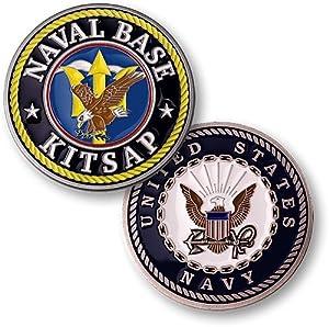 Naval Base Kitsap Challenge Coin