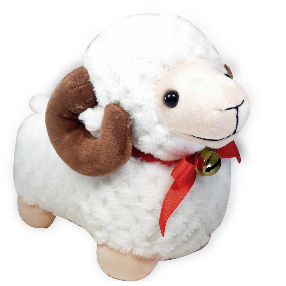 6 Baby Ram Bighorn Sheep Stuffed Animal Soft Plush Toy Suction Cup