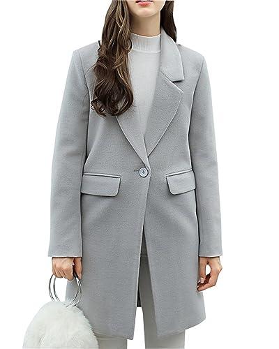 Mujer Invierno Elegante Outcoat Suelto Abrigo Chaqueta Acolchada Parkas