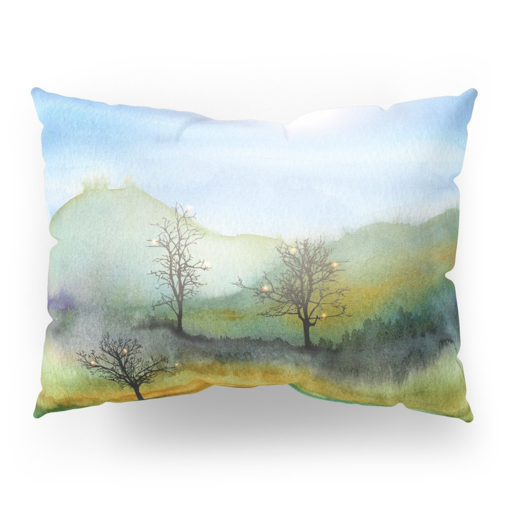 Society6 Christmas In The Woods Pillow Sham Standard (20'' x 26'') Set of 2