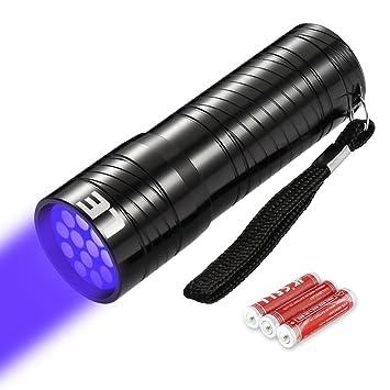 Noir Violette UvLumière Pour Traceurs 395nmUltra Ever PortableDétecteur Uv 12 Le Lampe Torche Led FluorescentsUrine Lighting ZiTwOkXulP