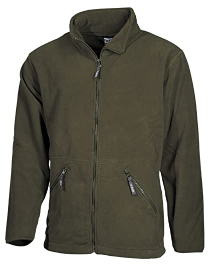 Fox Outdoor Chaqueta de Lana Oliva: Amazon.es: Hogar