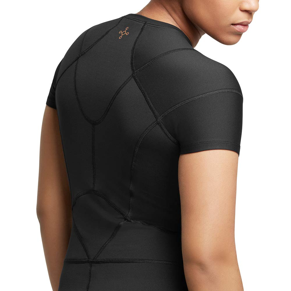 Tommie Copper Women's Pro-Grade Shoulder Centric Support Shirt, Black, Medium by Tommie Copper (Image #6)
