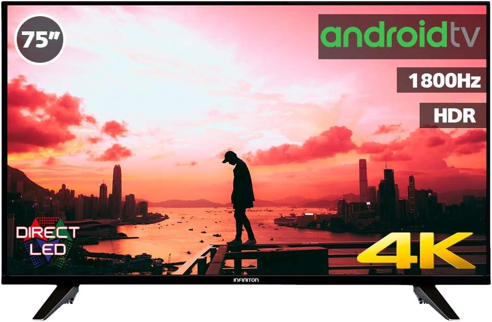 Television LED INFINITON Smart TV-Android TV (TDT2, HDMI, VGA, USB ...