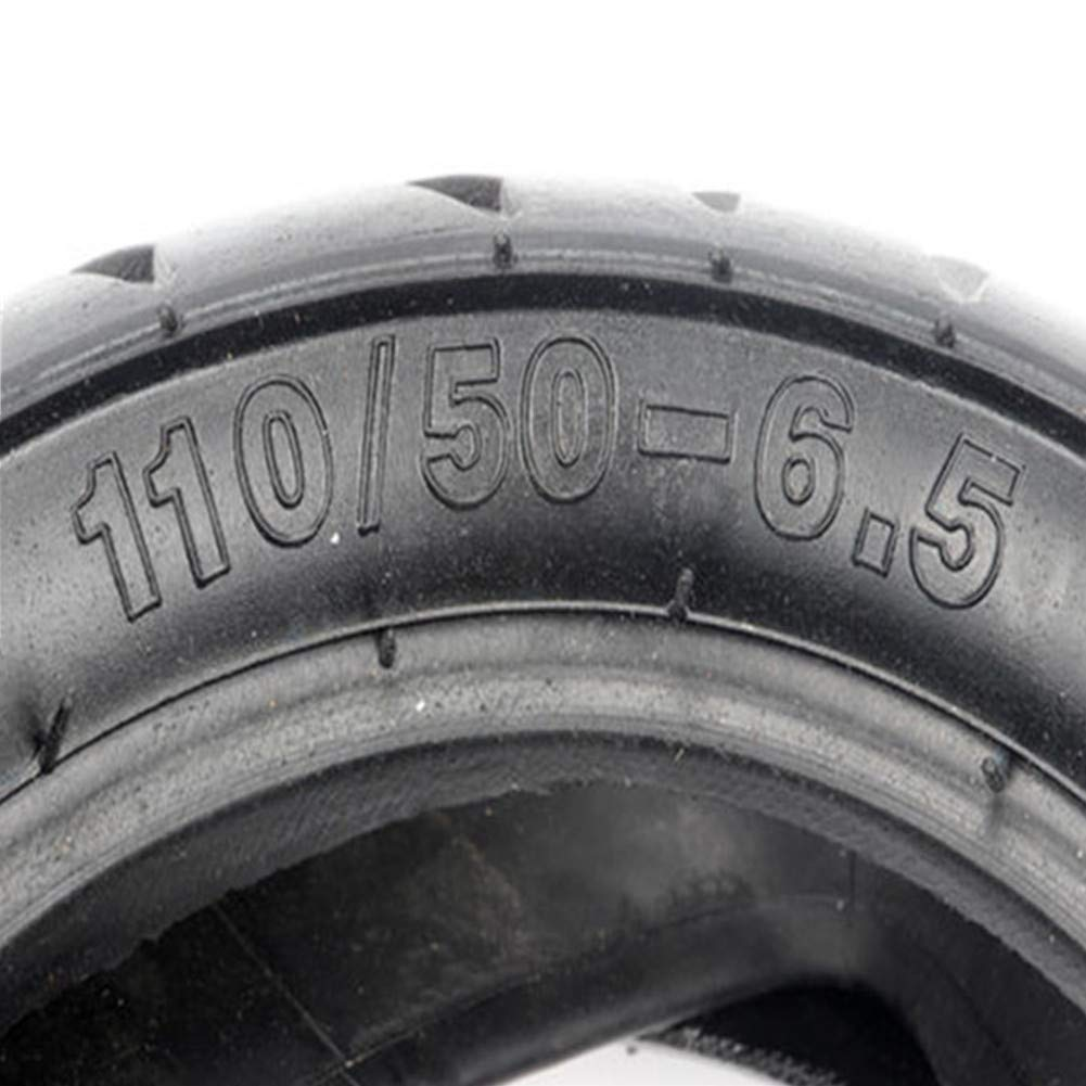 Tangren Electric Scooter Mini E-Bike 110/50-6.5 90/65-6.5 Front/Rear Tire+Inner Tube 47cc 49cc (110/50-6.5) by Tangren (Image #2)