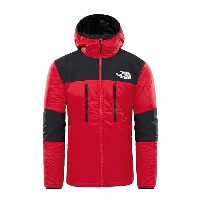 The North Face M Him Ligt Synt Hood Tnf Red Tnf Black S  Amazon.it   Abbigliamento 51e4a9917e49