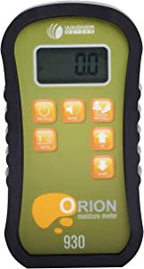 Wagner Meters Orion 930 Dual Depth Pinless Wood Moisture Meter Kit - Standard Calibrator