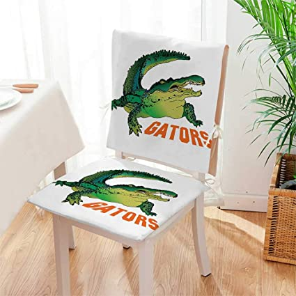 Remarkable Amazon Com Mikihome Chair Cushion Grumpy Alligator Has A Andrewgaddart Wooden Chair Designs For Living Room Andrewgaddartcom