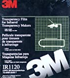 3M IR1120 Transparency Film for Infrared Transparency Makers 100 Sheets