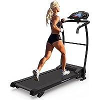 PrestigeSports XM-PROIII Treadmill 2018 Model Motorised Running Machine, Folding, 12KPH Speed, 3 Level Manual Incline,Speakers, Auto Lube, 12 Auto + 1 Manual Program, Pulse